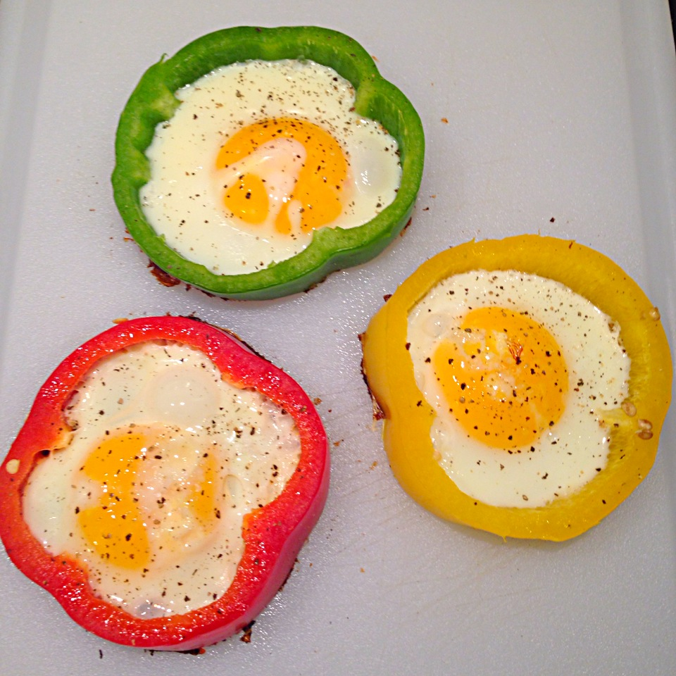 Bell Pepper Egg Flowers | Gluten Free Guaranteed